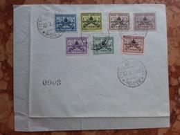 VATICANO - Sede Vacante 1939 Timbrati + Spese Postali - Usati