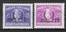 Trieste A 1949 Recapito Sass.Rec.4/5 **/MNH VF - 7. Trieste