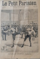 1899 SAVATE - BOXE FRANÇAISE - VICTOIRE DU CHAMPION FRANÇAIS - Magazines - Before 1900