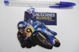 Autocollant Stickers - Sport MOTO De Course TEAM GAULOISES Blondes Avec MICHELIN Et MOBIL - Stickers