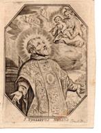 Image Pieuse 18e S. S.Philippus Netius (C.de Boudt) - Images Religieuses
