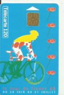 LE TOUR DE FRANCE 96  TELECART 120 - Sport