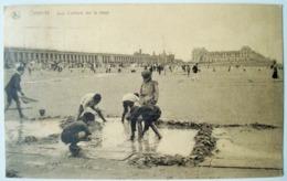 Ostende. - Jeux D'enfants Sur La Plage. - Ca. 1920. - Oostende
