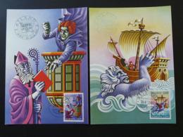 Carte Maximum Card (x2) Légendes WIPA 1981 Europa Islande Iceland (ref 84633) - Europa-CEPT