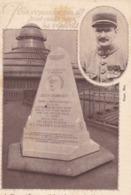 75. AVIATION. CPA.  MONUMENT COMMÉMORATIF DE JULES VEDRINES SUR LA TERRASSE DES GALERIES LAFAYETTE - Aviation