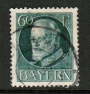 BAVARIA  Scott # 107 VF USED (Stamp Scan # 542) - Bavaria