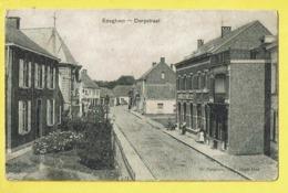 * Edegem - Edeghem (Antwerpen - Anvers) * (G. Bongartz Uitg Oude God) Dorpstraat, Katholieke Kring, Straatzicht, Kerk - Edegem