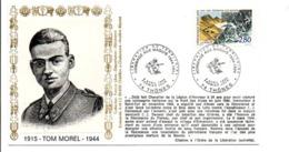 50 ANS HOMMAGE AUX MAQUIS TOM MOREL THONES HAUTE SAVOIE - Guerre Mondiale (Seconde)