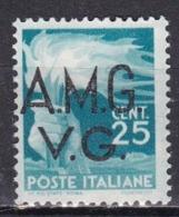 Venezia Giulia AMG VG, 1945/47 - 25c Democratica - Nr.13 MNH** - Mint/hinged