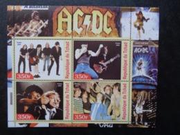 TCHAD BLOC 4 TIMBRES 2003 ** - AC DC - Tchad (1960-...)