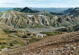 1 AK Island Iceland * Farbenprächtige Landschaft Landmannalaugar - Ein Gebiet Nahe Dem Vulkan Hekla * - Island