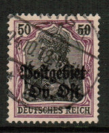 LITHUANIA  Scott # 1 N11 VF USED (Stamp Scan # 542) - Lithuania