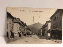 CPA 74 Cluses Grande Rue - Cluses