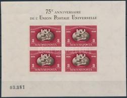 ** 1950 Vágott UPU Blokk (140.000) - Sellos