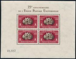 ** 1950 UPU Fogazott Blokk Luxus állapotban (140.000) - Sellos