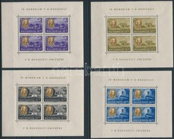 ** 1947 Roosevelt Kisívsor Egyenes Képállással, 10f Pici Ránc A Kereten, Egyébként  Jó Minőségű (90.000) - Sellos