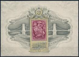 * 1949 Lánchíd III. Blokk (**80.000) - Sellos