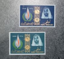 ABU DHABI  STAMPS   Human Rights   1969  MNH   ~~L@@K~~ - Abu Dhabi