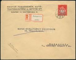1946 (27. Díjszabás) Helyi Ajánlott Levél 1 Millió Ap Egyes Bérmentesítéssel, Ritka! - Sellos