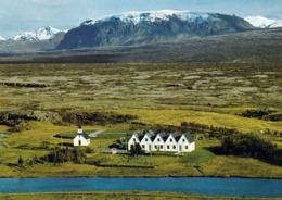 1 AK Island * Thingvellir Versammlungsstätte Des Althings Von 930 Bis 1878 - 1930 Nationalpark Seit 2004 UNESCO Welterbe - Island