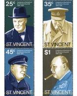 Ref. 360030 * MNH * - ST. VINCENT. 1974. CENTENARIO DEL NACIMINETO DE WINSTON CHURCHILL - Sir Winston Churchill