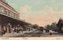 256699Bussum, Station-1911 - Bussum