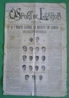 Lisboa - Jornal O Sport De Lisboa Nº 1082 De Maio De 1931 - Imprensa - Futebol- Estádio - Olhão - Leiria - Sport