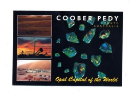 Carte Coober Pedy Opale Cachet Sur Arbre - Otros