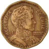 Monnaie, Chile, 50 Pesos, 1981, Santiago, TB+, Aluminum-Bronze, KM:219.1 - Chili