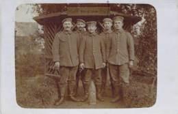 Gruppe Soldaten - Feldpost 1915 - Fotografía