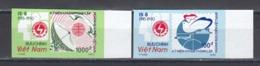 Vietnam 1990 - 45e Ann. De L'Office Des Postes Vietnamien, Mi-Nr. 2234/35, Non Dent., MNH** - Vietnam