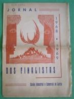 Leiria - Jornal Dos Finalistas Da Escola Industrial E Comercial De Leiria 1968/69 - Imprensa - Publicidade - Andere