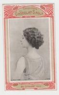 BB993 - CHROMO Collection Du CHOCOLAT SADLA - Mlle Cavallieri - Artiste - Reutlinger - Chocolat