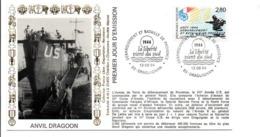 50 ANS DEBARQUEMENT DE PROVENCE ANVIL DRAGOON DRAGUIGNAN - Guerre Mondiale (Seconde)