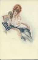 Illustrateur Maurice Millière-Les Demi Vierges-Série No 65. - Milliere