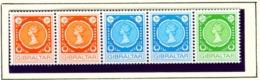 GIBRALTAR  -  1971 Coil Stamps Set Unmounted/Never Hinged Mint - Gibraltar