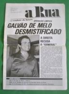 Lisboa -  Portugal -Jornal A Rua Nº 23 De Setembro De 1976 - República Portuguesa  Imprensa - 25 De Abril - PREC - Algemene Informatie