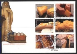 PORTUGAL, 1999, GASTRONOMY, CONVENTUAL SWEETS, CE#2615-20, FDC - FDC