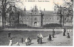 CPA- 62 - BOURLON - Façade Du Chateau, Belle Animation - PAS De CALAIS  HAUTS De FRANCE - Other Municipalities