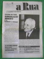 Lisboa - Portugal - Jornal A Rua Nº 69 De Julho De 1977 - República Portuguesa  Imprensa - 25 De Abril - PREC - Salazar - Algemene Informatie