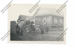 RU 172840 TOROPEZ / TWER, 2.Weltkrieg, Kleinphoto, Traktor, Knick - Russland