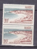 N° 978 Série Touristique : Royan 1 Paire De 2 Timbres Neuf Impeccable Sans Charnière - France