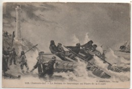 CP ( Le Bateau De Sauvetage Au Phare De La Coubre ) Editions Braun - Frankreich