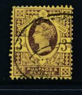 GB, 1887 3d Very Fine Used - Gebruikt