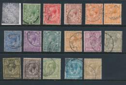 GB, 1912 Set Complete All Fine Postmarks, Cat £105 - 1902-1951 (Könige)