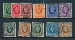 GB, 1934 Set Complete All Fine Postmarks, Cat £24 - 1902-1951 (Re)