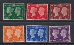 GB, 1940 Stamp Centenary Set Very Fine Used - 1902-1951 (Re)