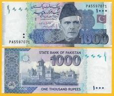 Pakistan 1000 Rupees P-50 2018 UNC - Pakistán