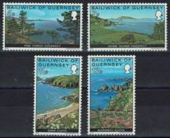 Großbritannien-Guernsey 1976 - Jethou, Sark, Alderney - MiNr 137-140** - - Guernsey