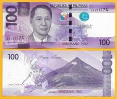 Philippines 100 Piso P-222 2017 UNC Banknote - Philippines